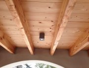 Lamp aan plafond